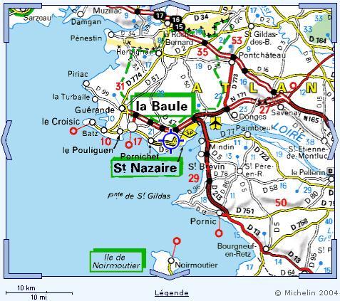 Région de Saint Nazaire