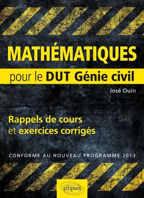 mathématiques DUT Génie civil