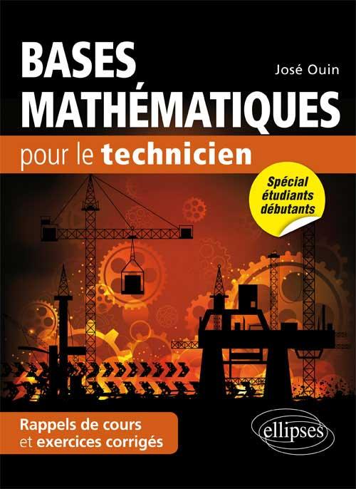 Bases mathématiques pour le technicien